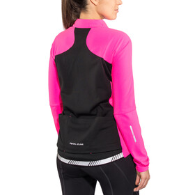 PEARL iZUMi Elite Pursuit AmFIB Jacket Damen screaming pink/black